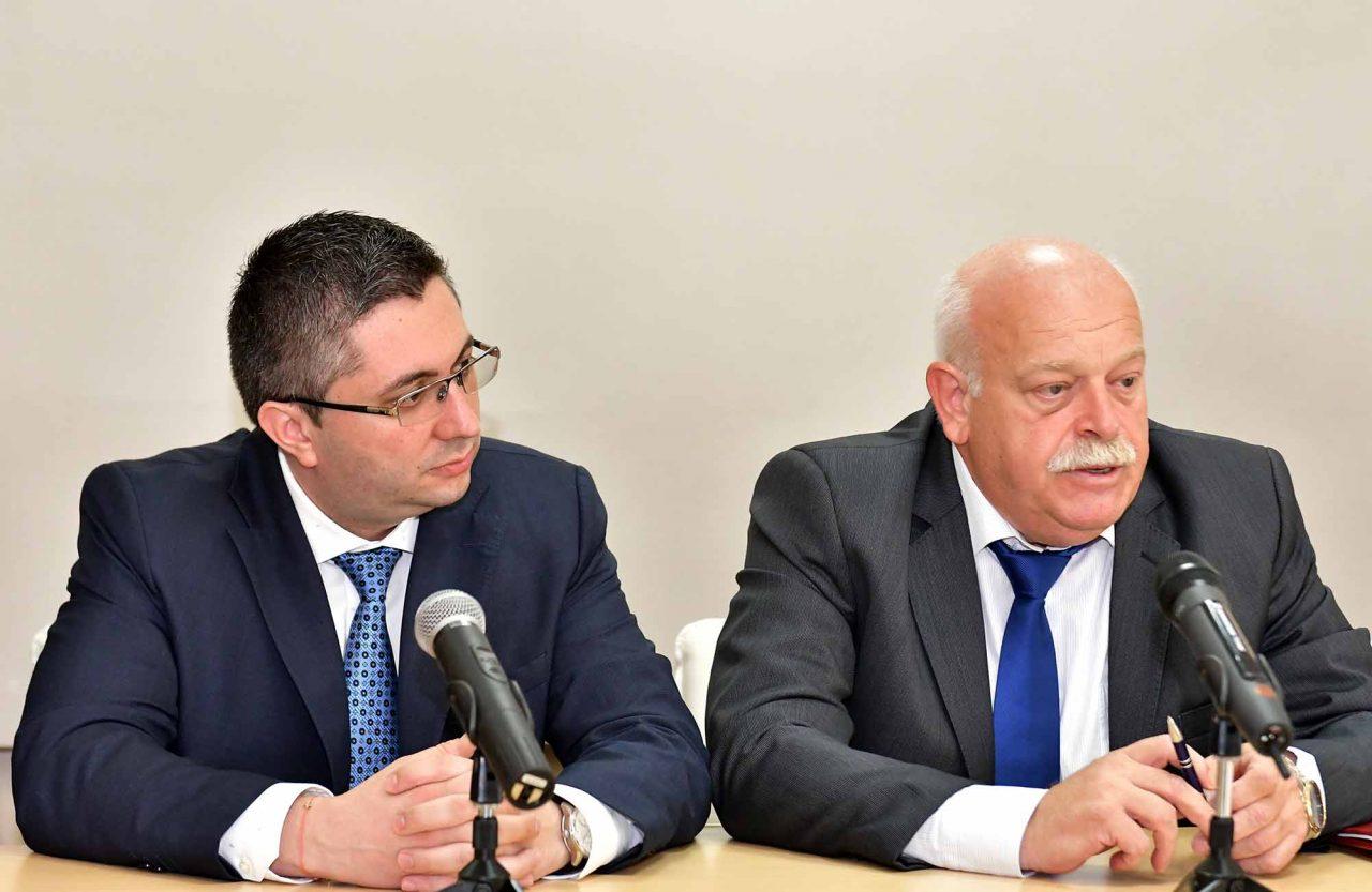 Министър Николай Нанков Инжинер Дончо Атанасов