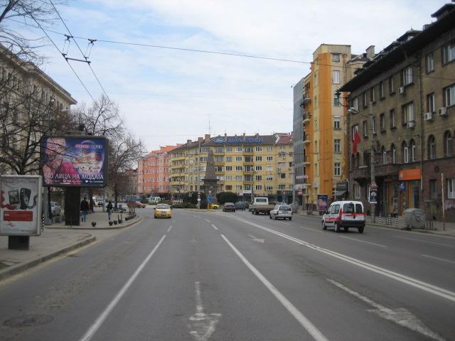 Улица път булевард