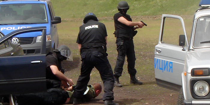 Акция Полиция ГДБОП