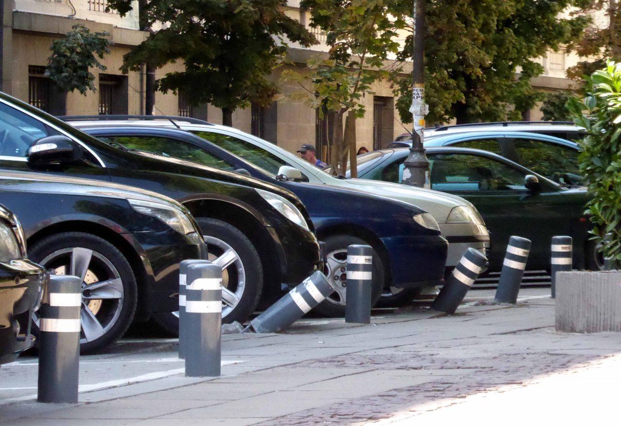 Паркинг до съдебната палата