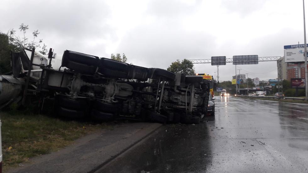 Катастрофа камион бе