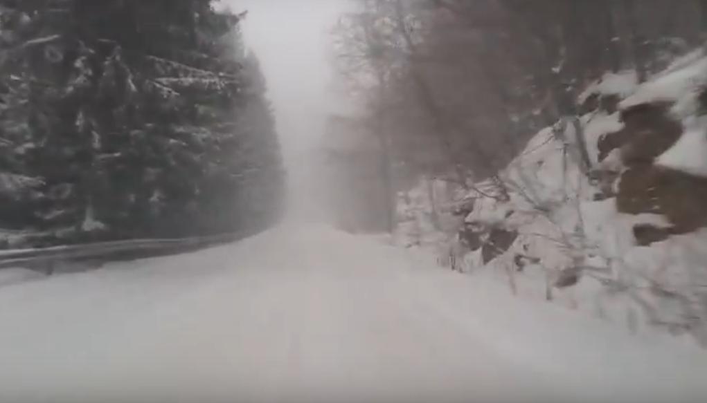 сняг проход зима пътища