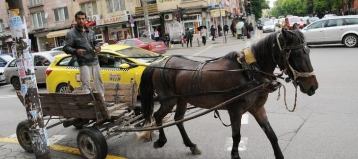 циганин с каруца