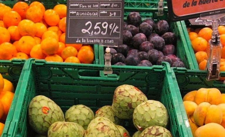 Плодове пазар магазин зеленчуци