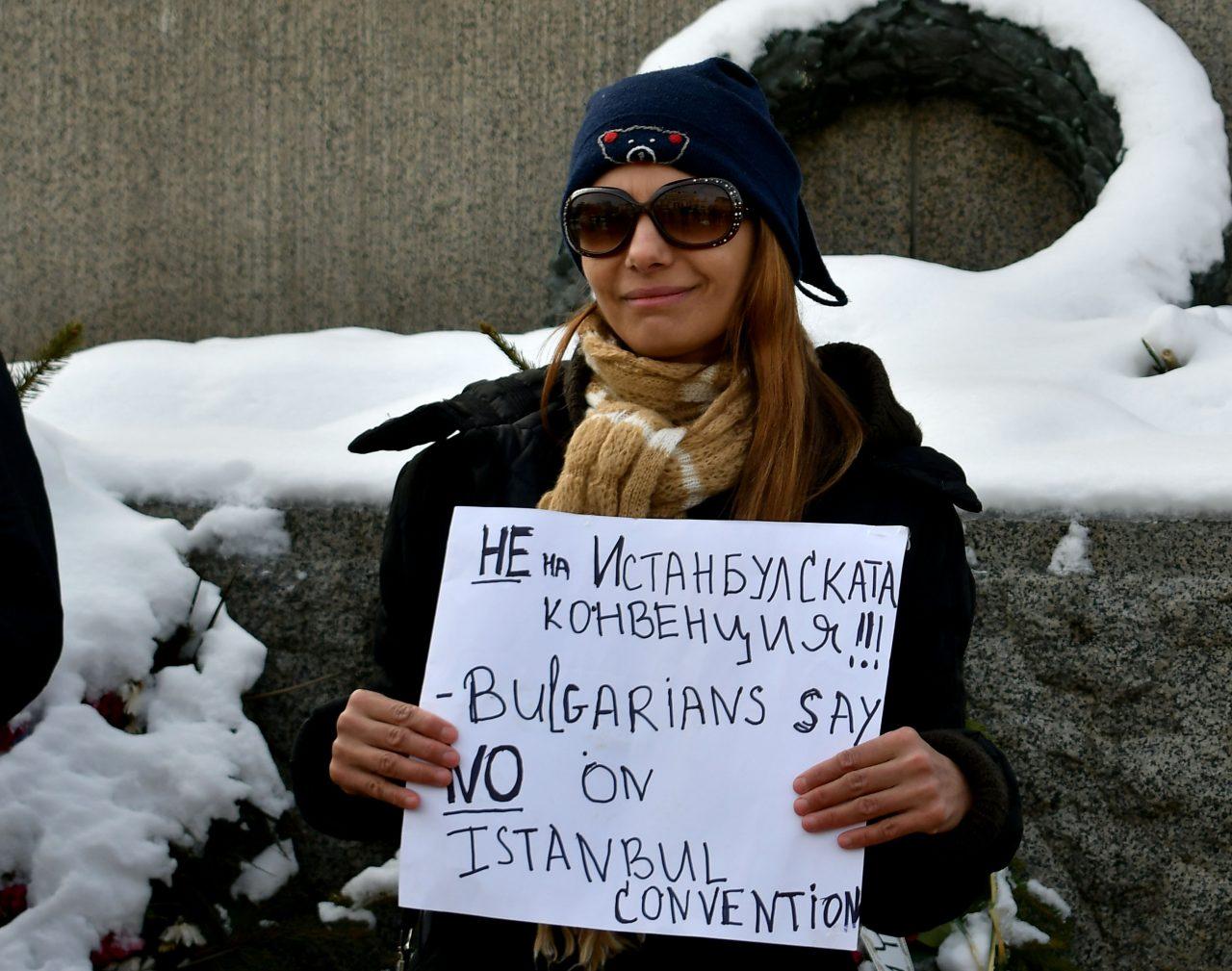Протест против истанбулската конвенция (2)