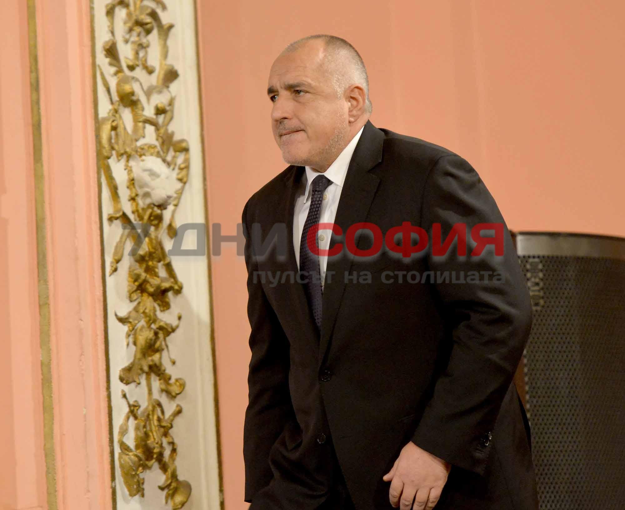 Министър-председателят БойкоБорисов поздрави президента Владимир Путин за преизбирането мукато държавен