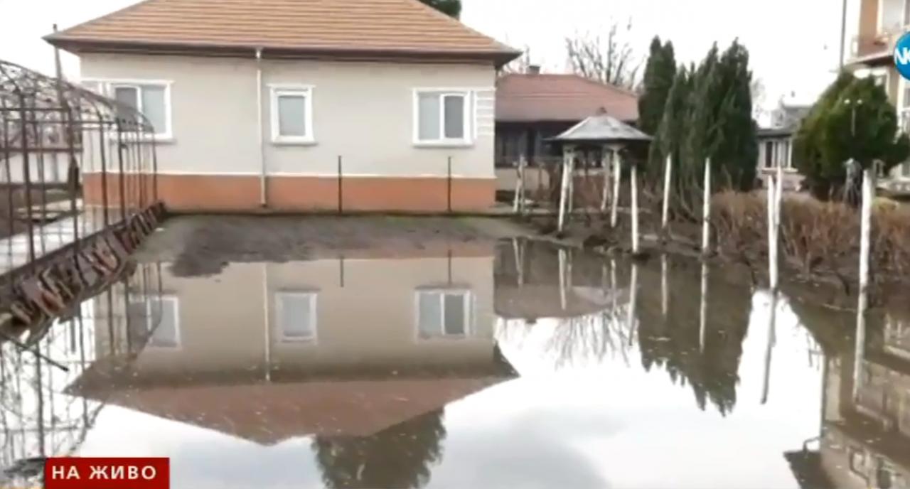Брегово Наводнение вода