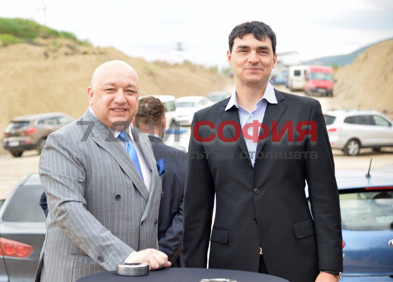 Нова волейболна зала на ВК Левски Красен Кралев Владо Николов (7)