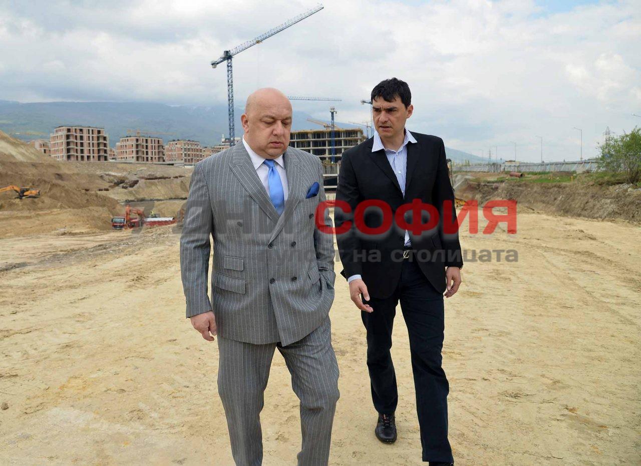 Нова волейболна зала на ВК Левски Красен Кралев Владо Николов (9)