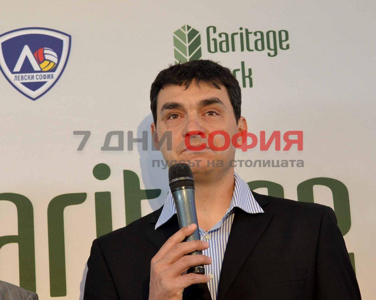 Нова волейболна зала на ВК Левски (6) Владо Николов