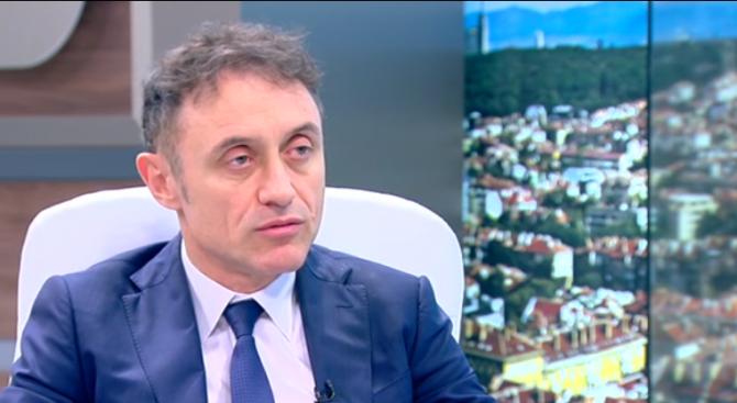 Шефът на БДЖ Владимир Владимиров