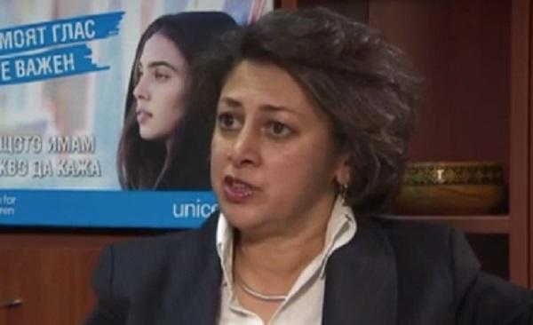 Афшан Кан, регионален директор на УНИЦЕФ за Европа и Централна