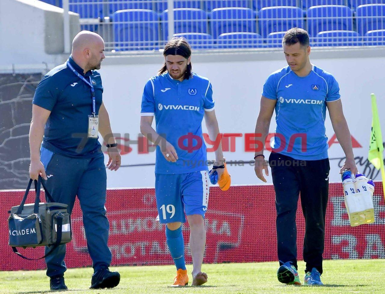 Милош Цветкович се присъедини към Левски в начало на сезона,