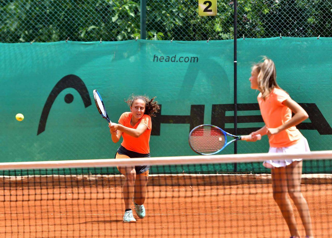 Държавно първенство тенис до 14 год. ТК 15-40 двойки полуфинал (1)