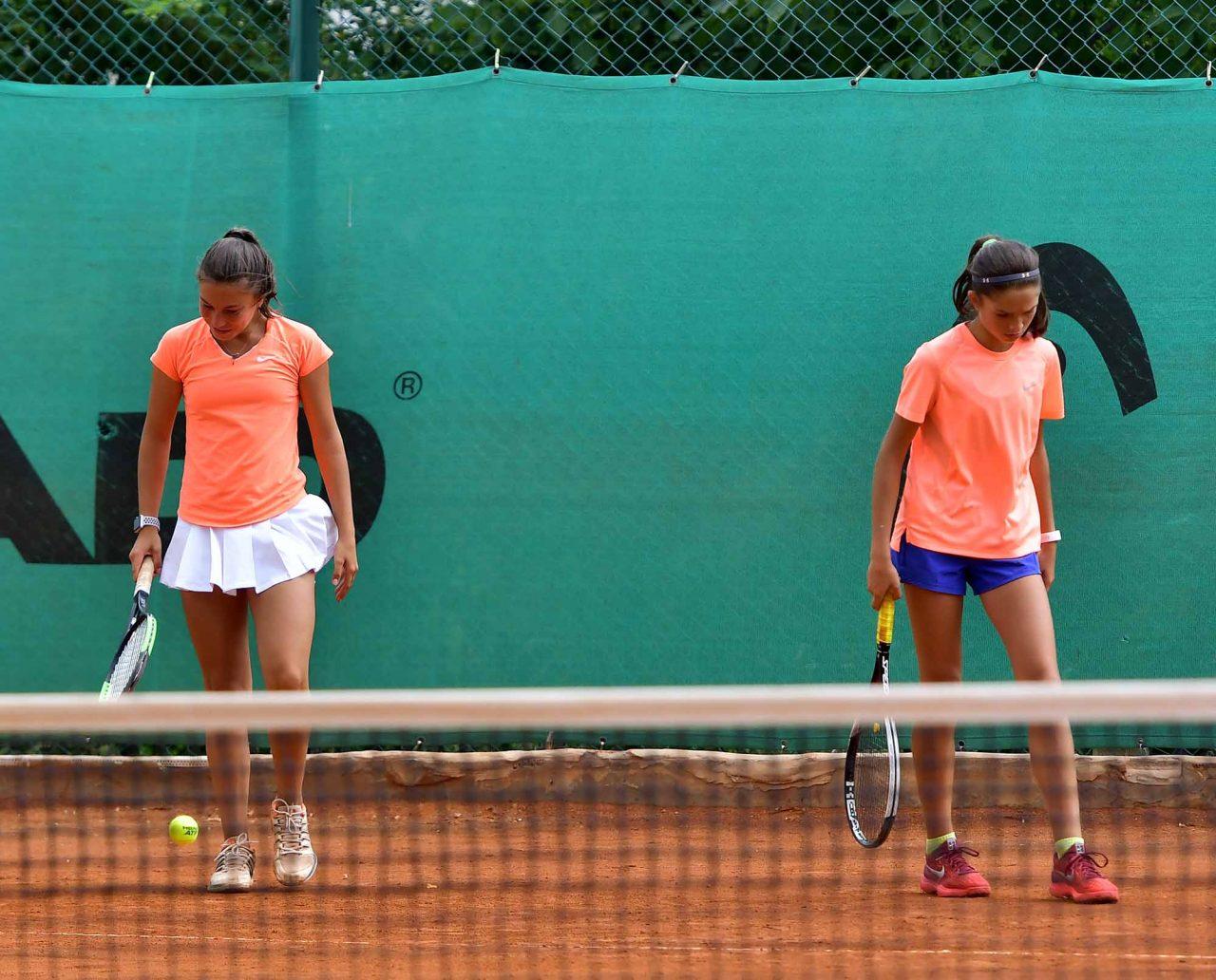 Държавно първенство тенис до 14 год. ТК 15-40 двойки полуфинал (11)