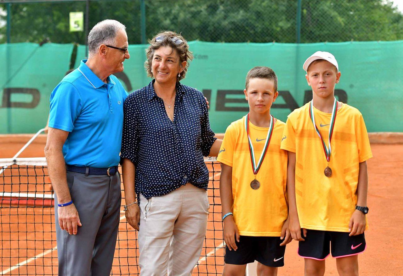 Държавно първенство тенис до 14 год. ТК 15-40 двойки полуфинал (2)