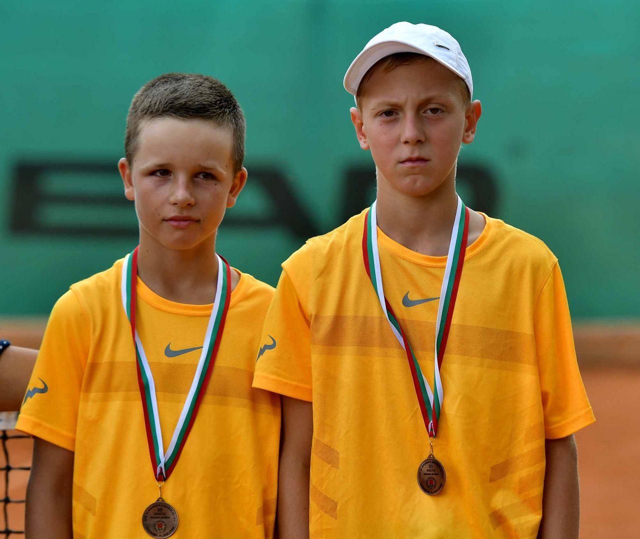 Държавно първенство тенис до 14 год. ТК 15-40 двойки полуфинал (3)