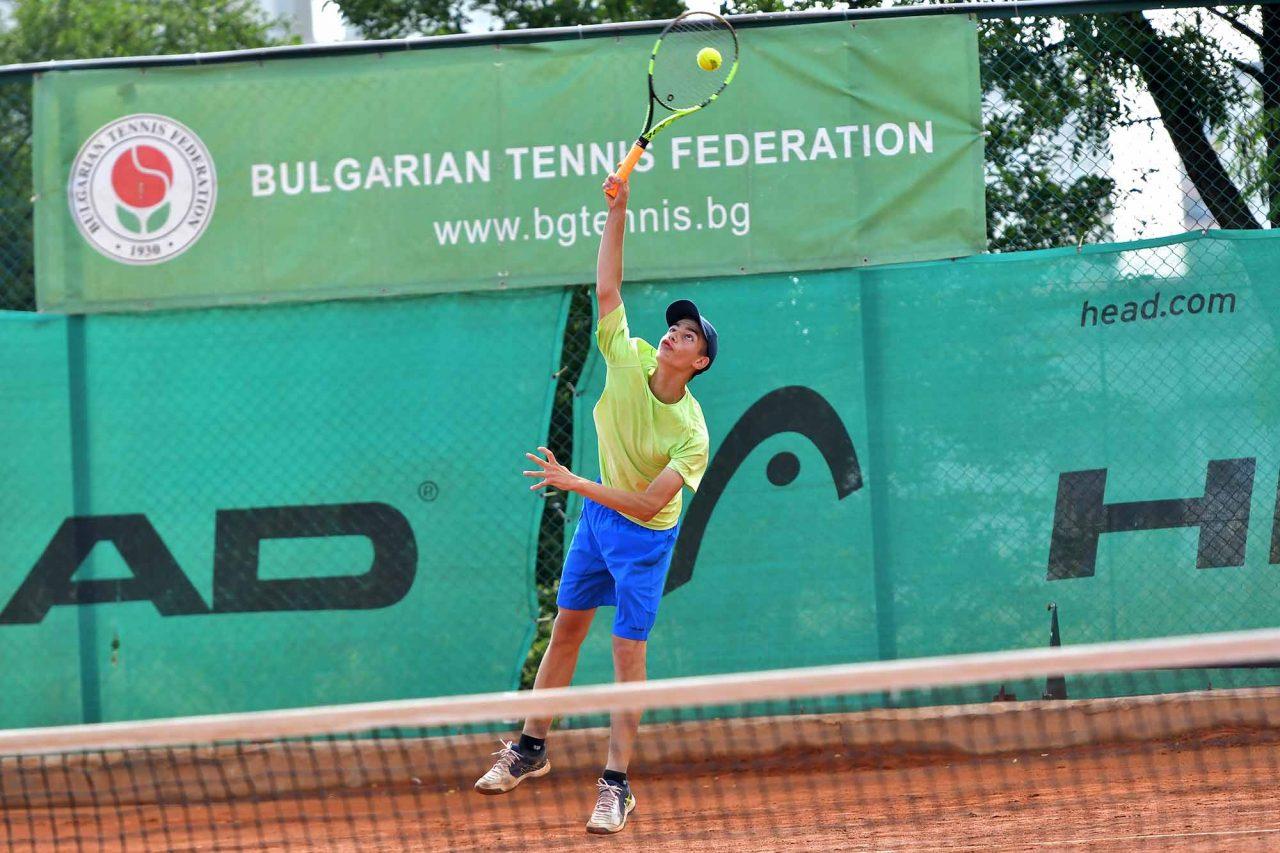 Държавно първенство тенис до 14 год. ТК 15-40 момчета (1)
