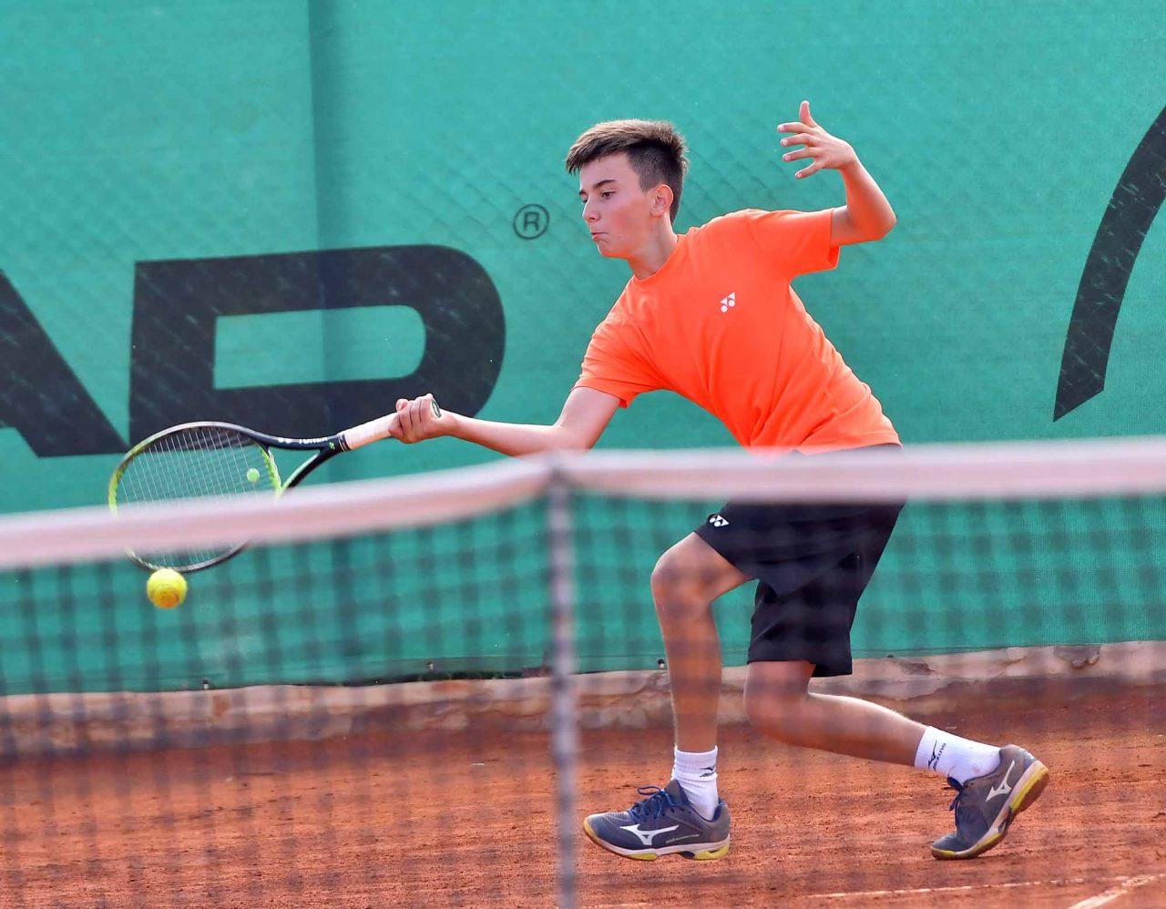 Държавно първенство тенис до 14 год. ТК 15-40 момчета (16)
