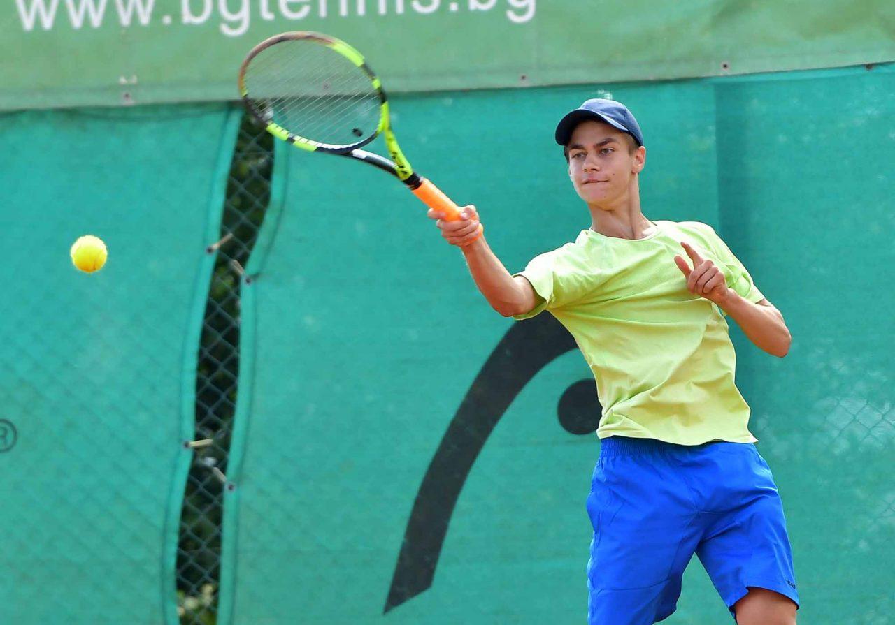 Държавно първенство тенис до 14 год. ТК 15-40 момчета (2)