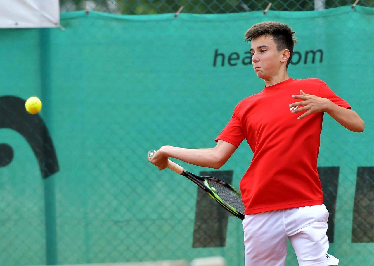 Държавно първенство тенис до 14 год. ТК 15-40 полуфинал (12)