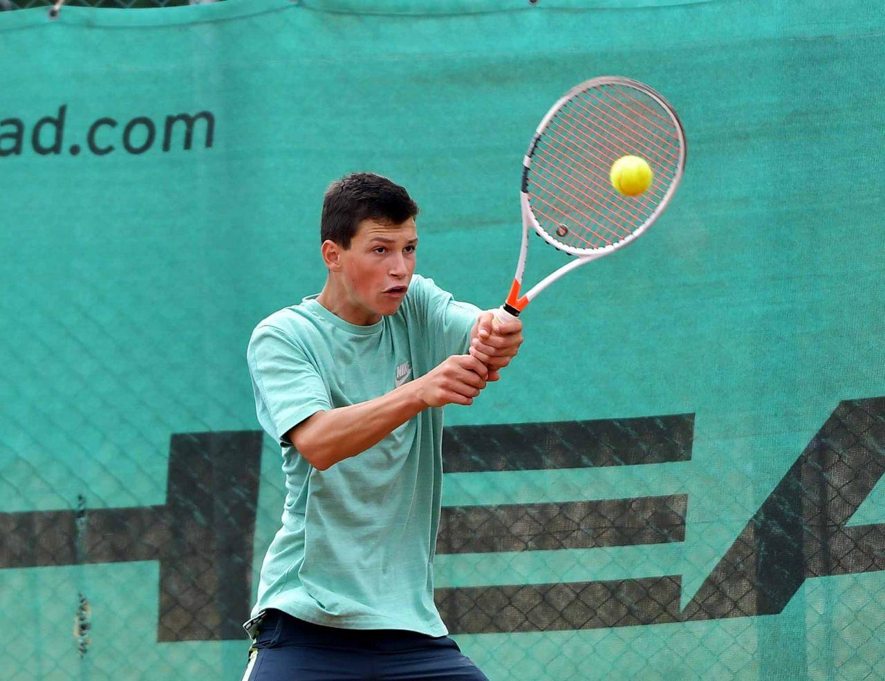 Държавно първенство тенис до 14 год. ТК 15-40 полуфинал (17)