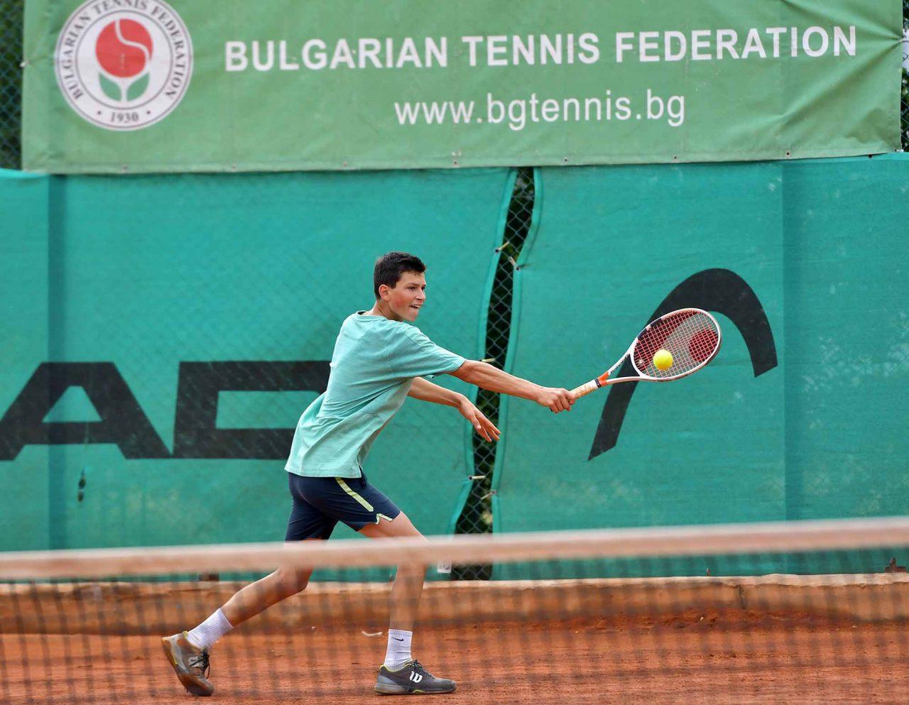 Държавно първенство тенис до 14 год. ТК 15-40 полуфинал (18)