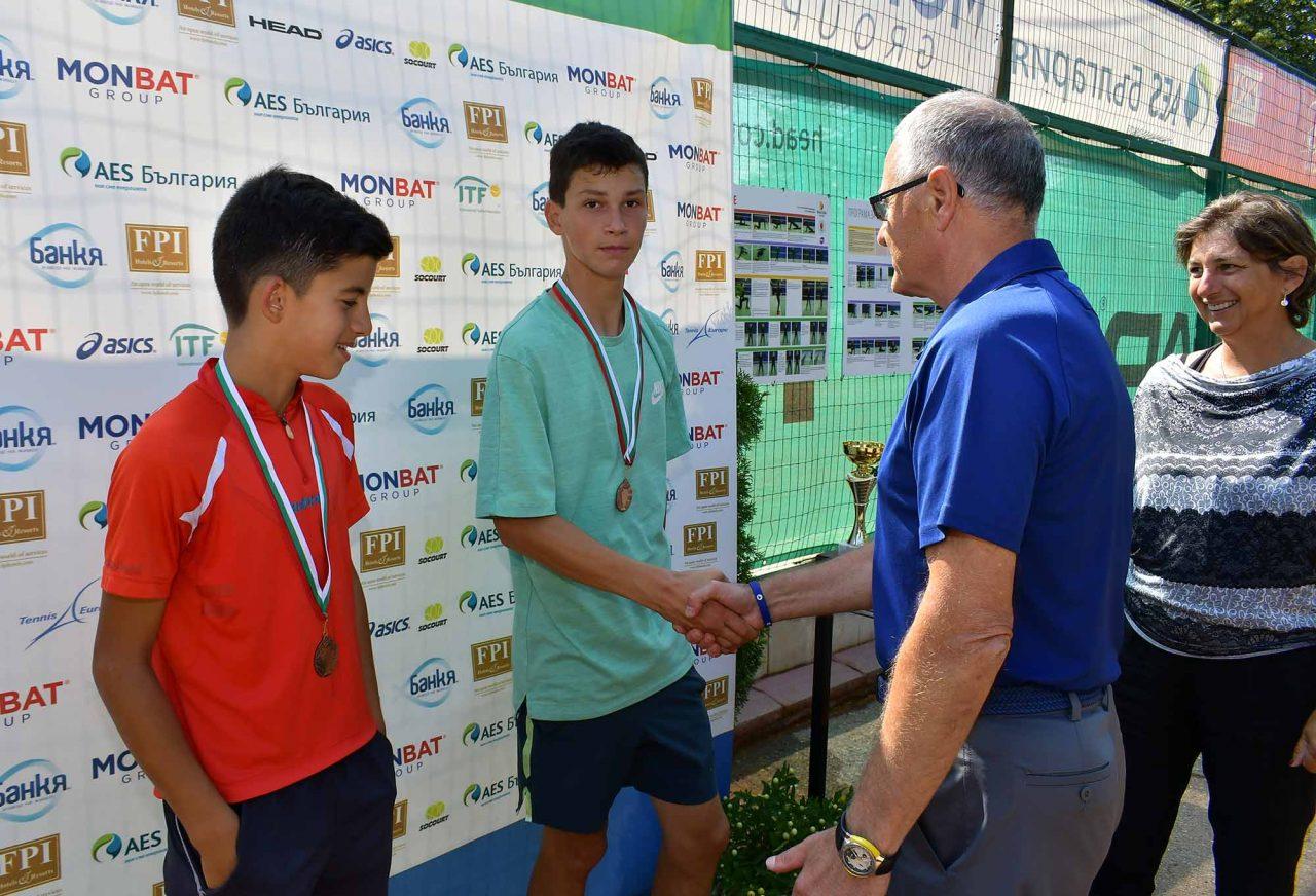Държавно първенство тенис до 14 год. ТК 15-40 полуфинал (45)