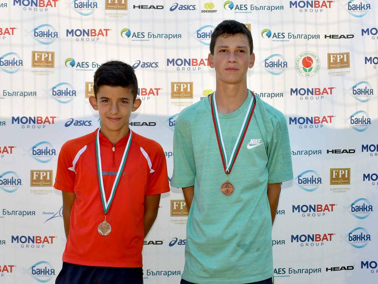 Държавно първенство тенис до 14 год. ТК 15-40 полуфинал (46)