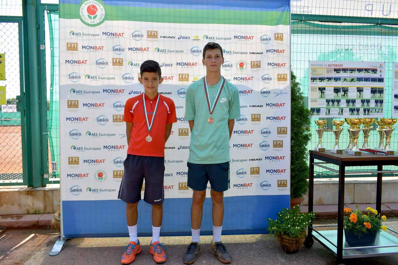 Държавно първенство тенис до 14 год. ТК 15-40 полуфинал (47)
