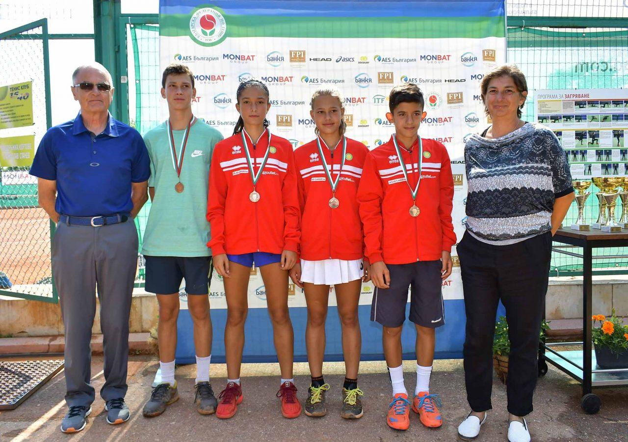 Държавно първенство тенис до 14 год. ТК 15-40 полуфинал (7)