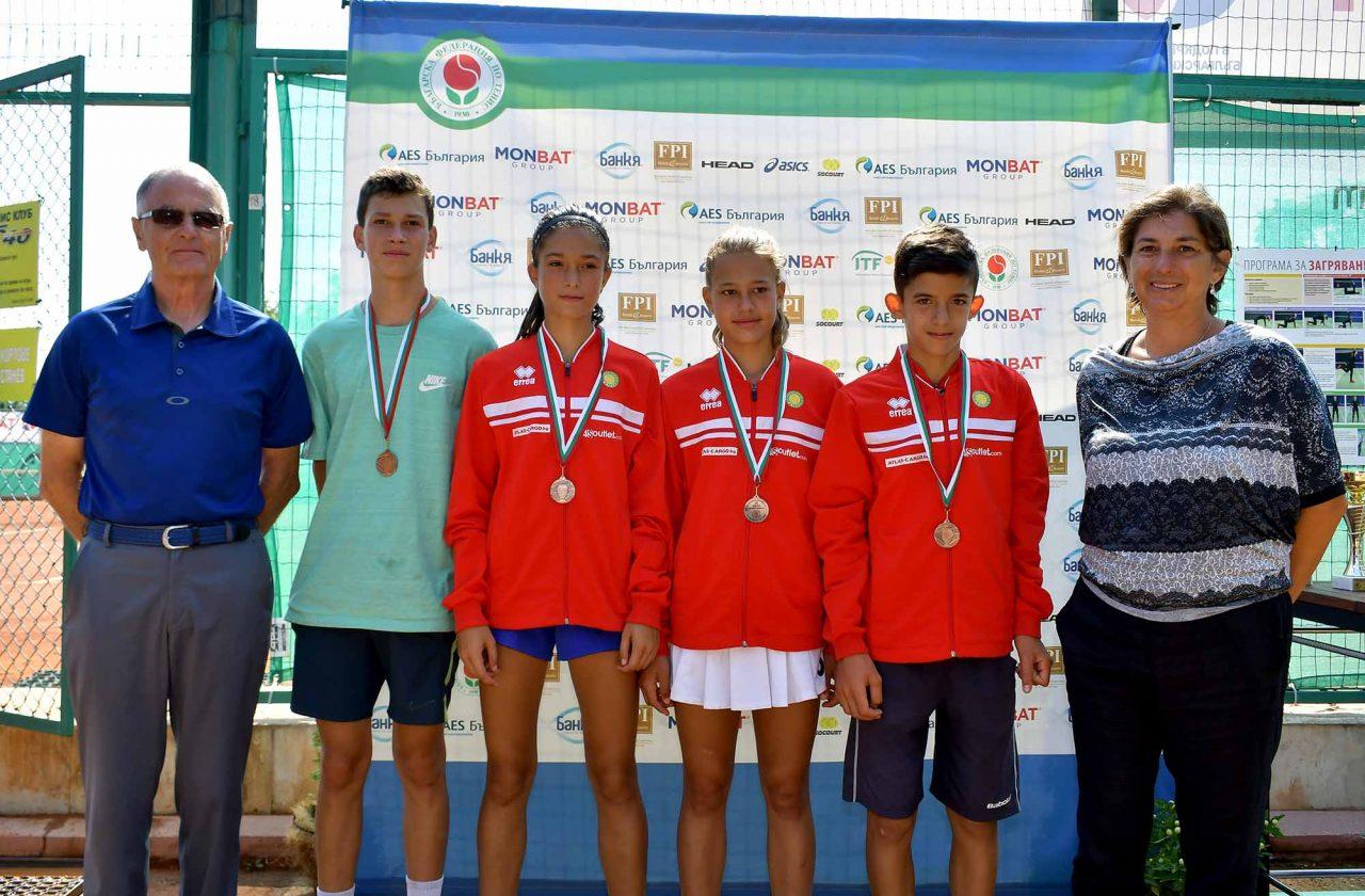 Държавно първенство тенис до 14 год. ТК 15-40 полуфинал (8)