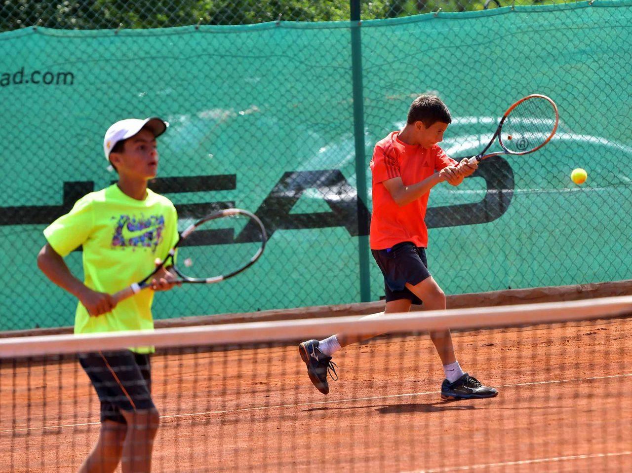 Държавно първенство тенис до 14 год. ТК 15-40 финал двойки (16)