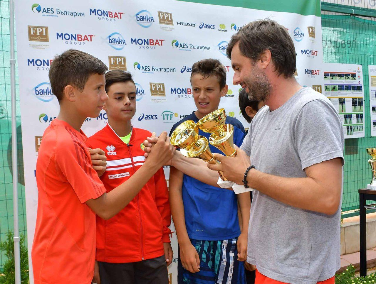 Държавно първенство тенис до 14 год. ТК 15-40 финал двойки (36)