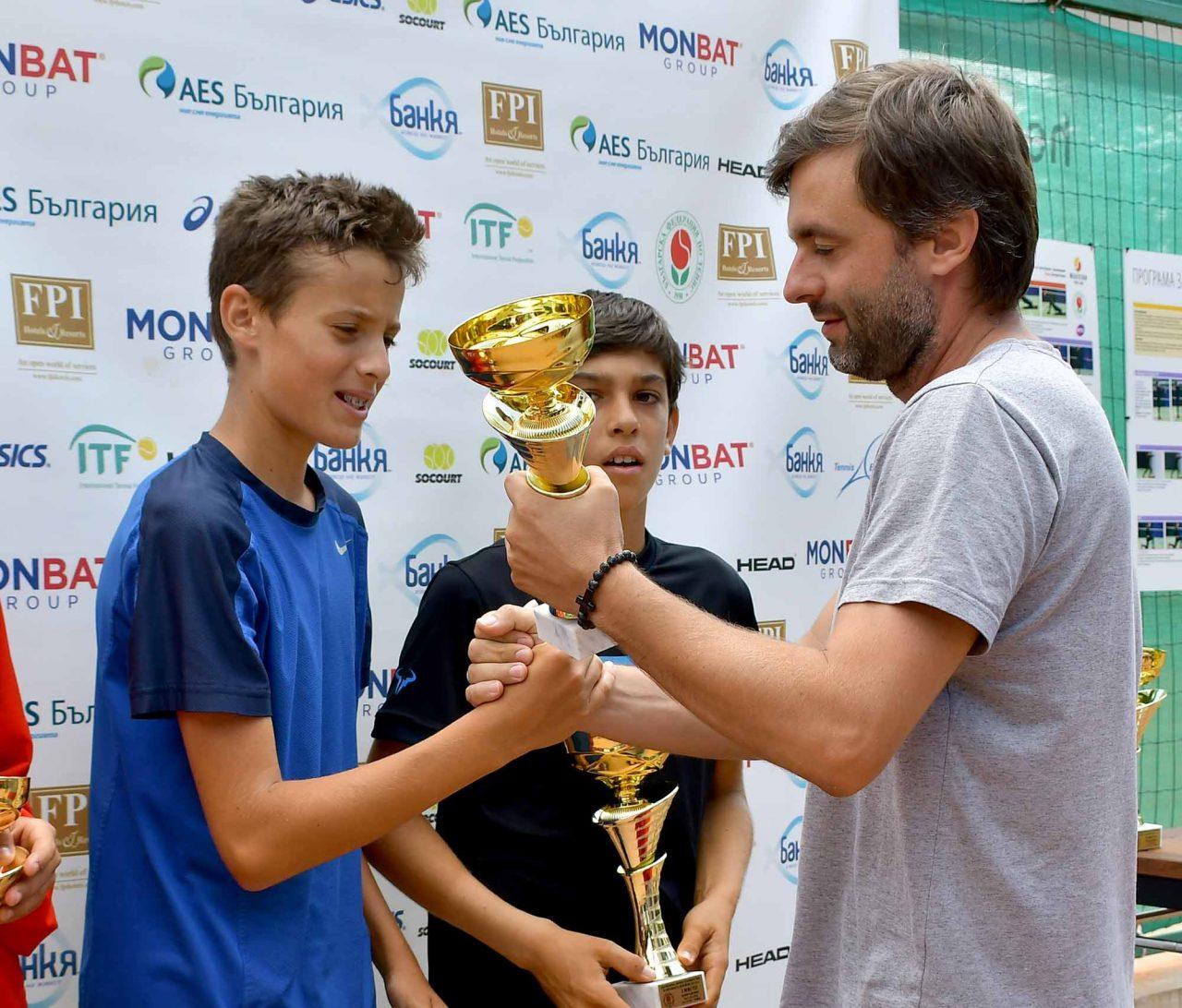 Държавно първенство тенис до 14 год. ТК 15-40 финал двойки (37)