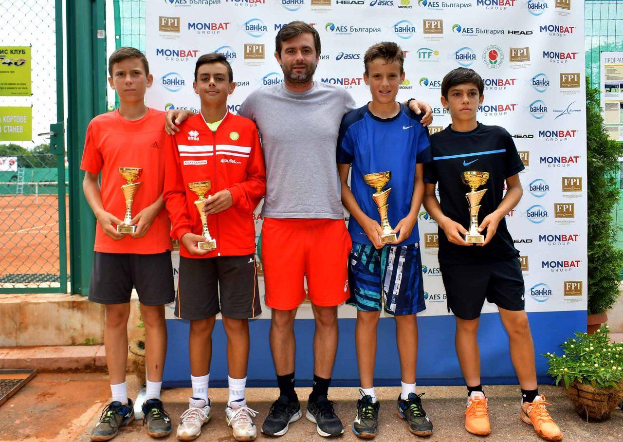 Държавно първенство тенис до 14 год. ТК 15-40 финал двойки (38)