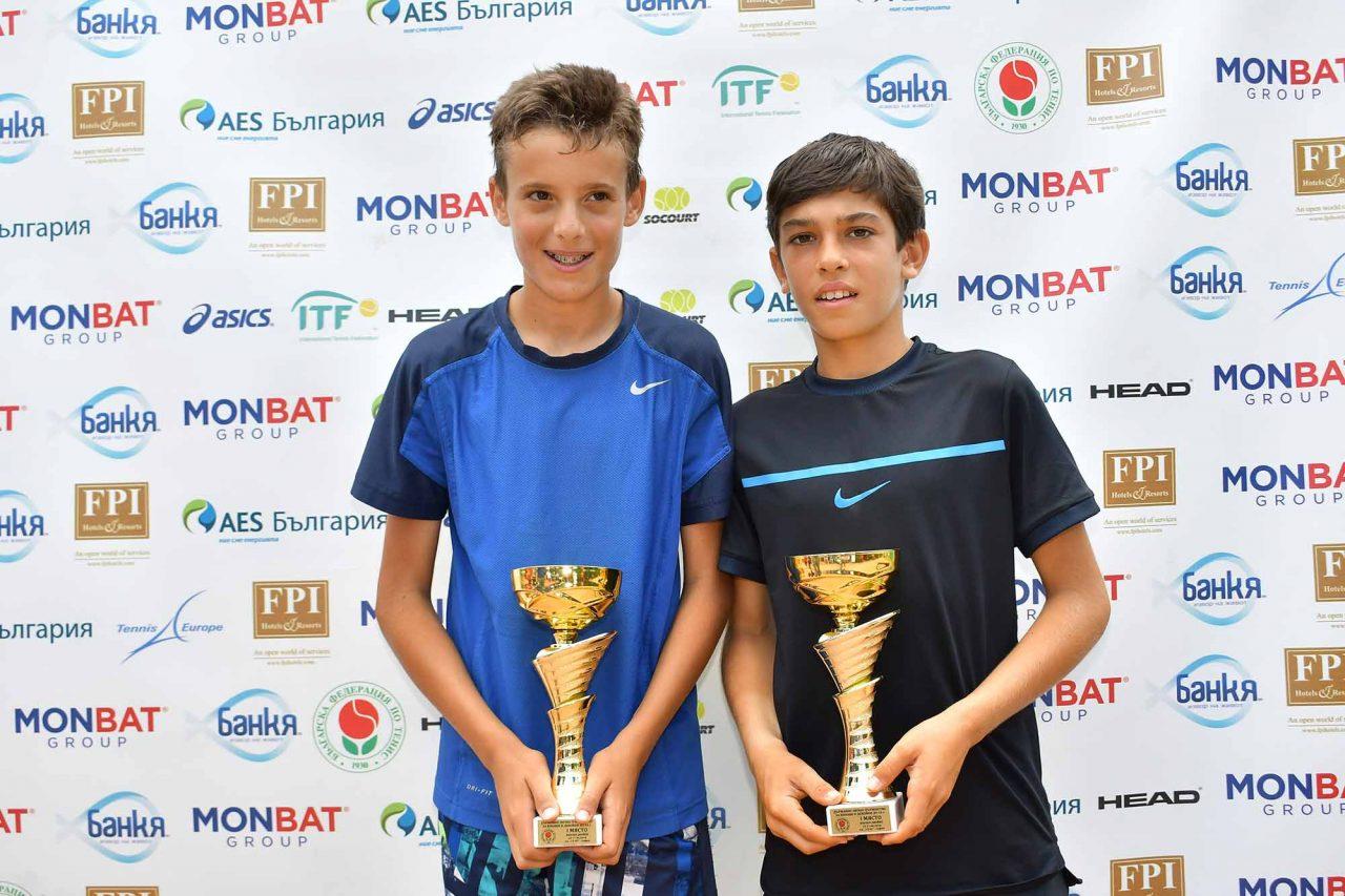 Държавно първенство тенис до 14 год. ТК 15-40 финал двойки (40)