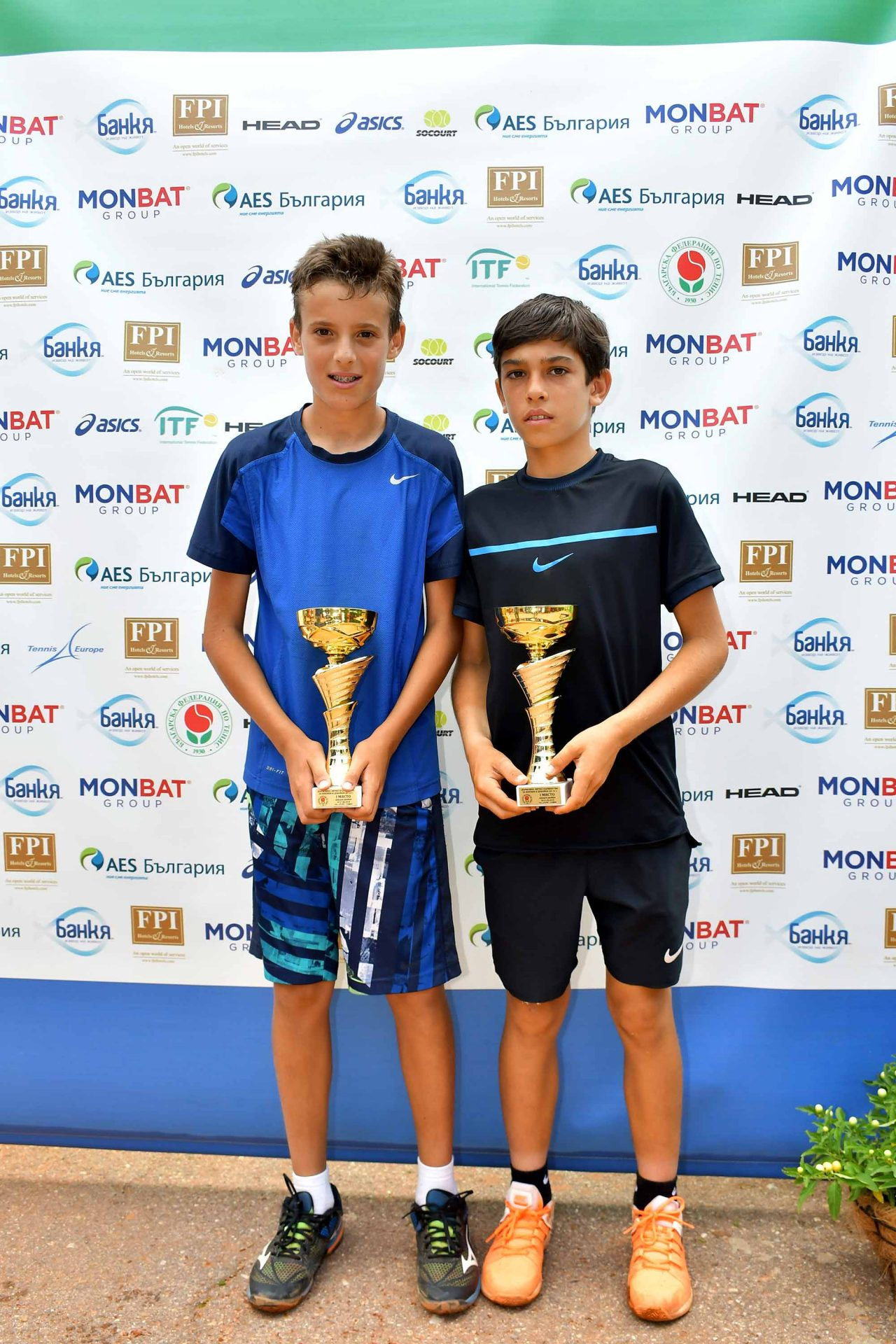 Държавно първенство тенис до 14 год. ТК 15-40 финал двойки (41)