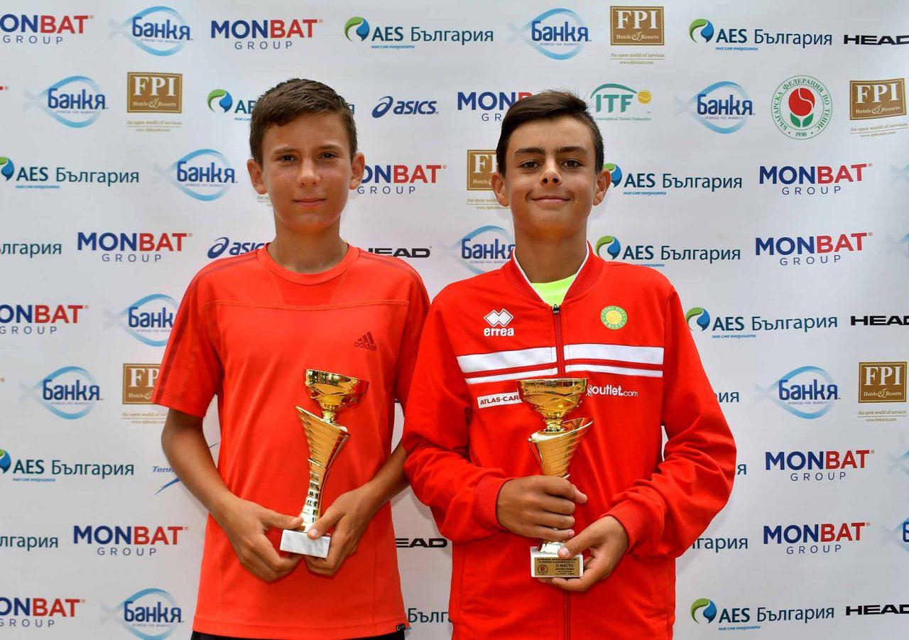 Държавно първенство тенис до 14 год. ТК 15-40 финал двойки (42)