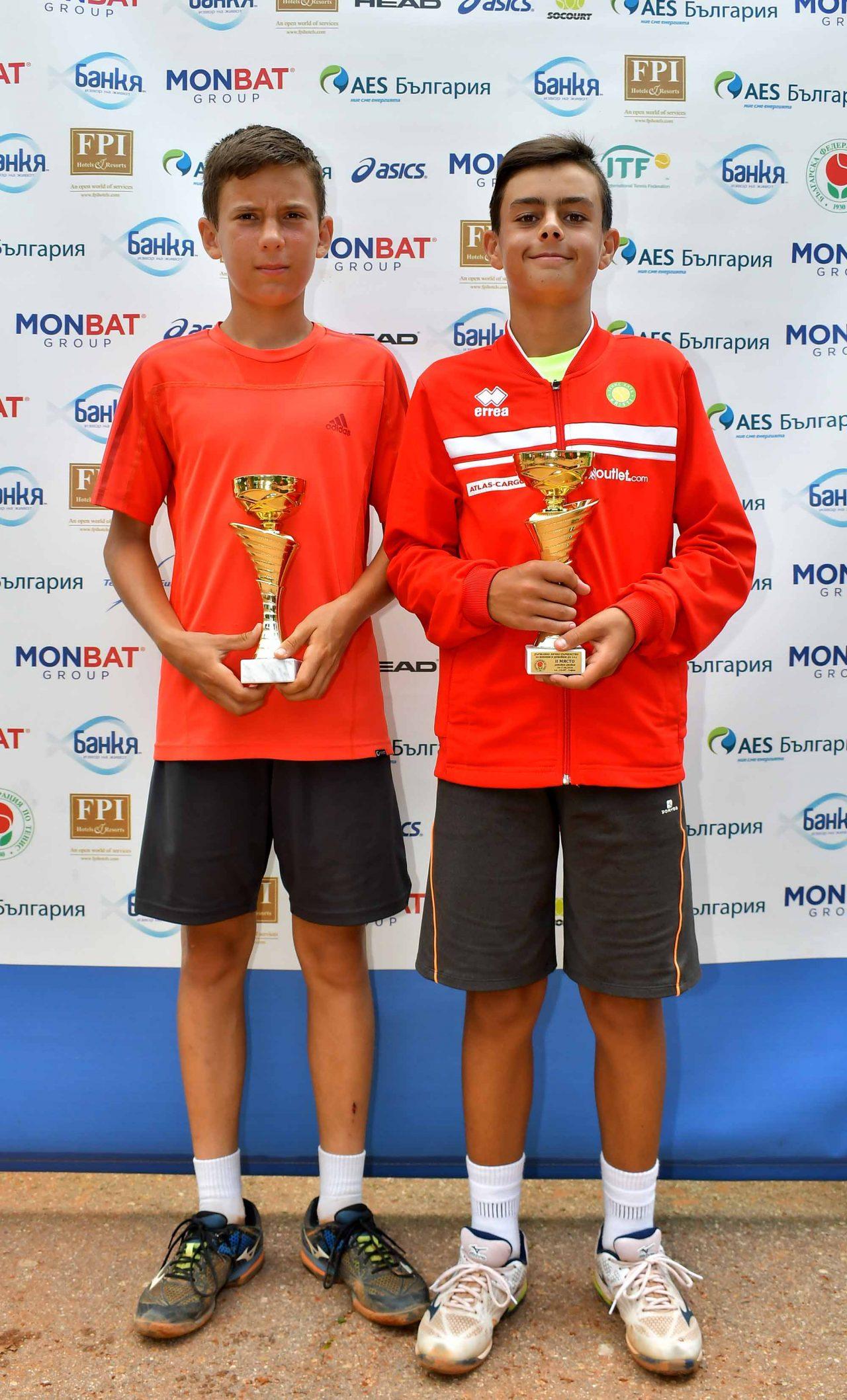 Държавно първенство тенис до 14 год. ТК 15-40 финал двойки (43)