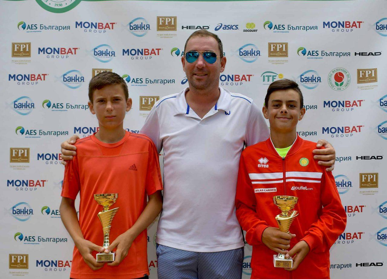 Държавно първенство тенис до 14 год. ТК 15-40 финал двойки (44)