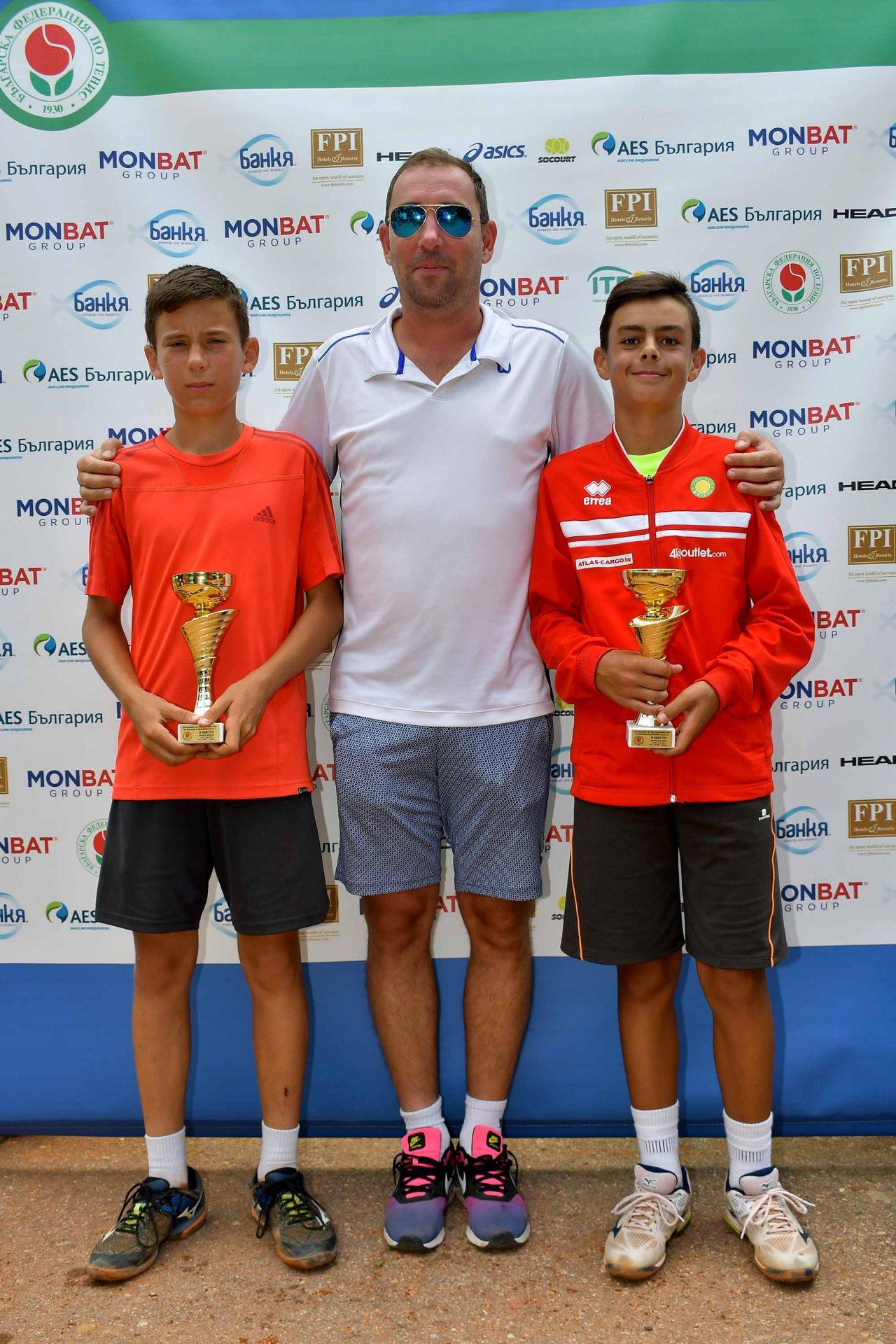 Държавно първенство тенис до 14 год. ТК 15-40 финал двойки (45)