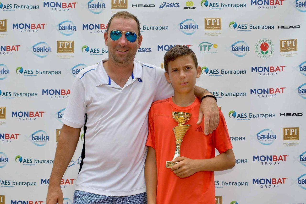 Държавно първенство тенис до 14 год. ТК 15-40 финал двойки (46)
