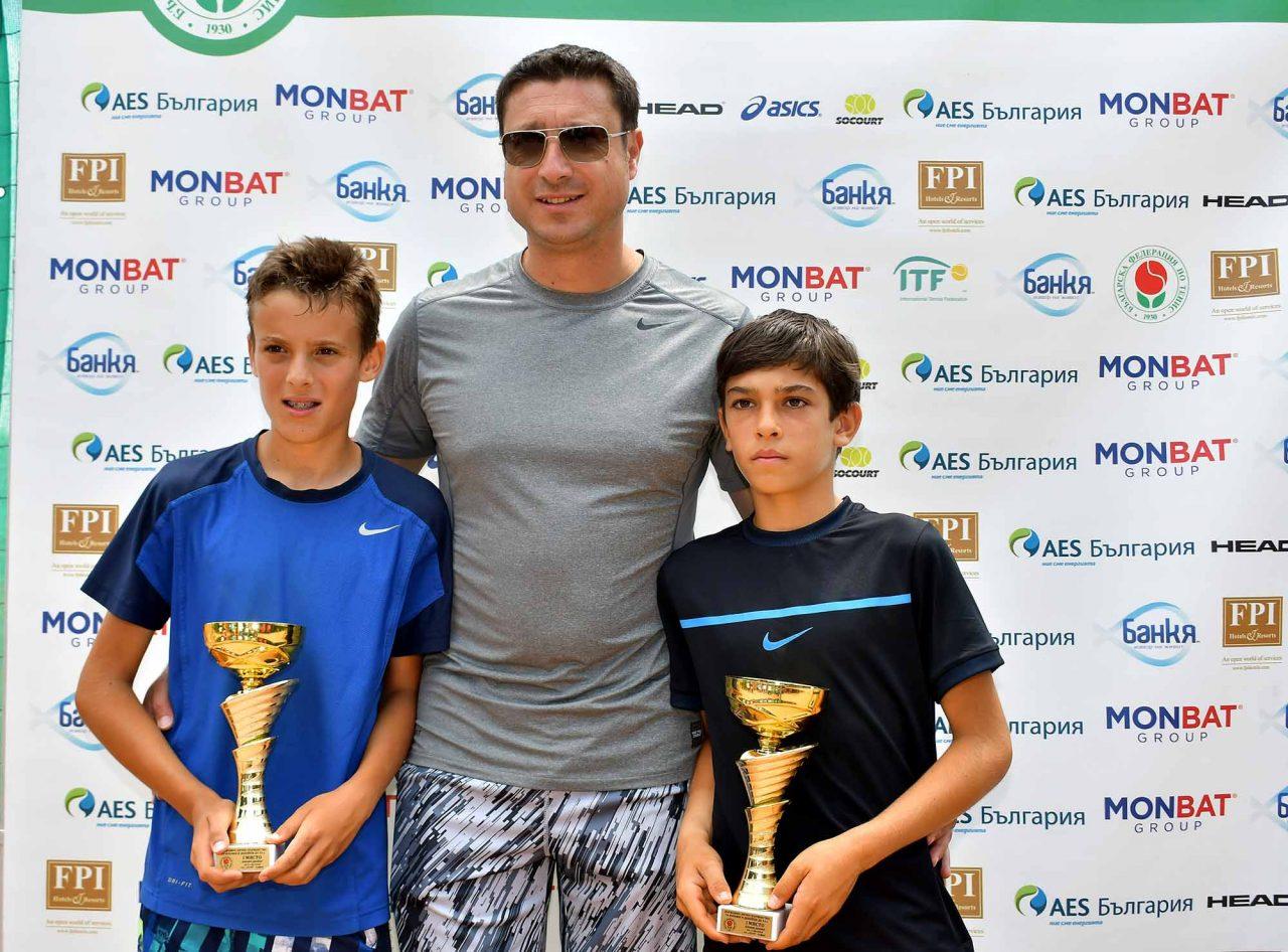Държавно първенство тенис до 14 год. ТК 15-40 финал двойки (47)