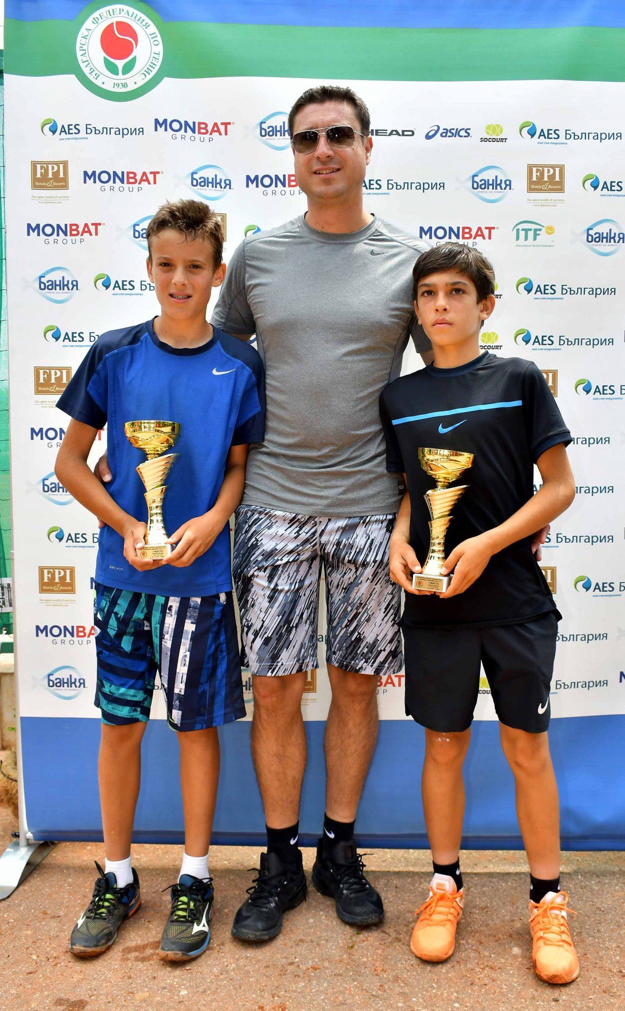 Държавно първенство тенис до 14 год. ТК 15-40 финал двойки (48)