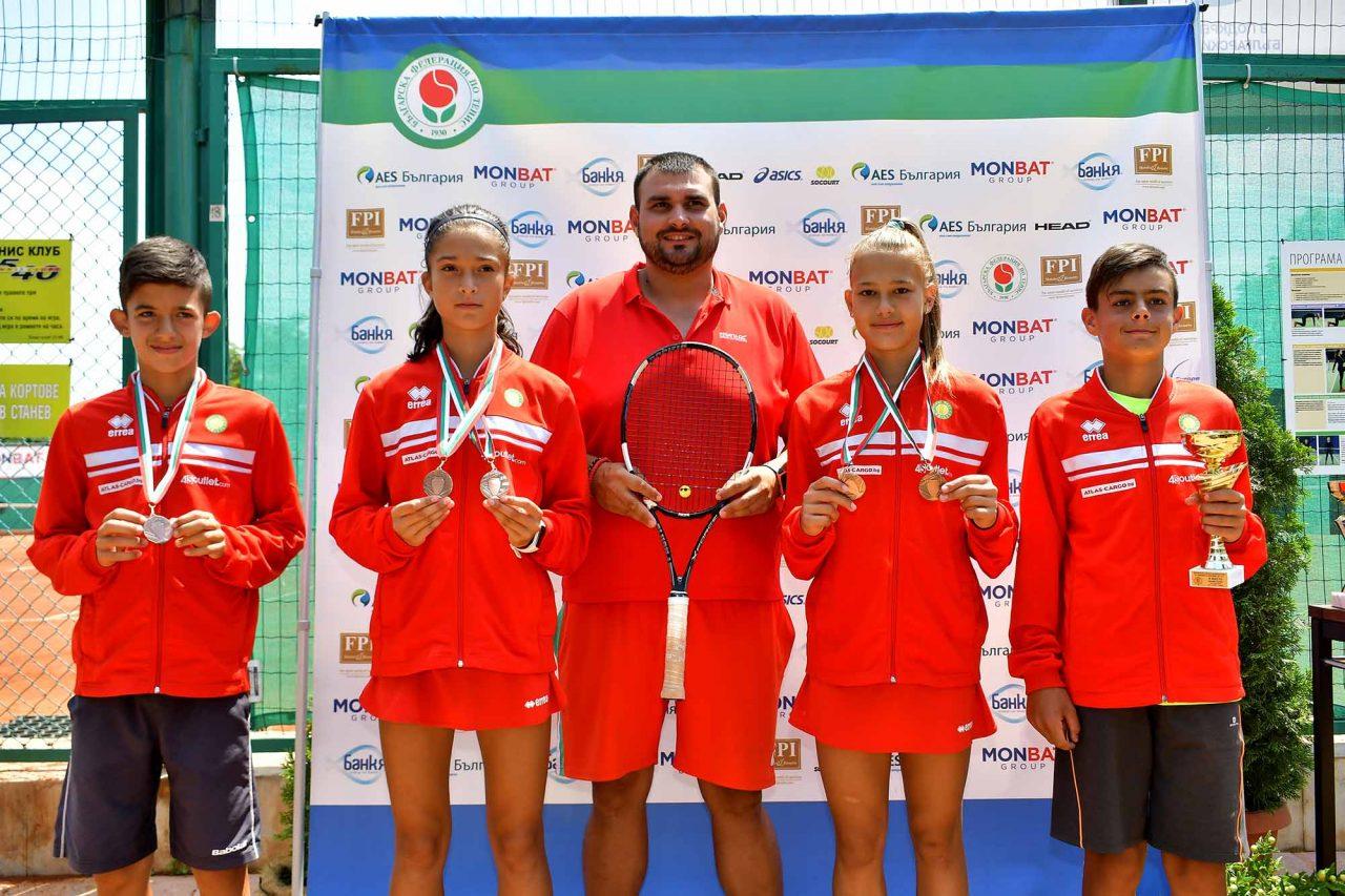 Държавно първенство тенис до 14 год. ТК 15-40 финал двойки (50)