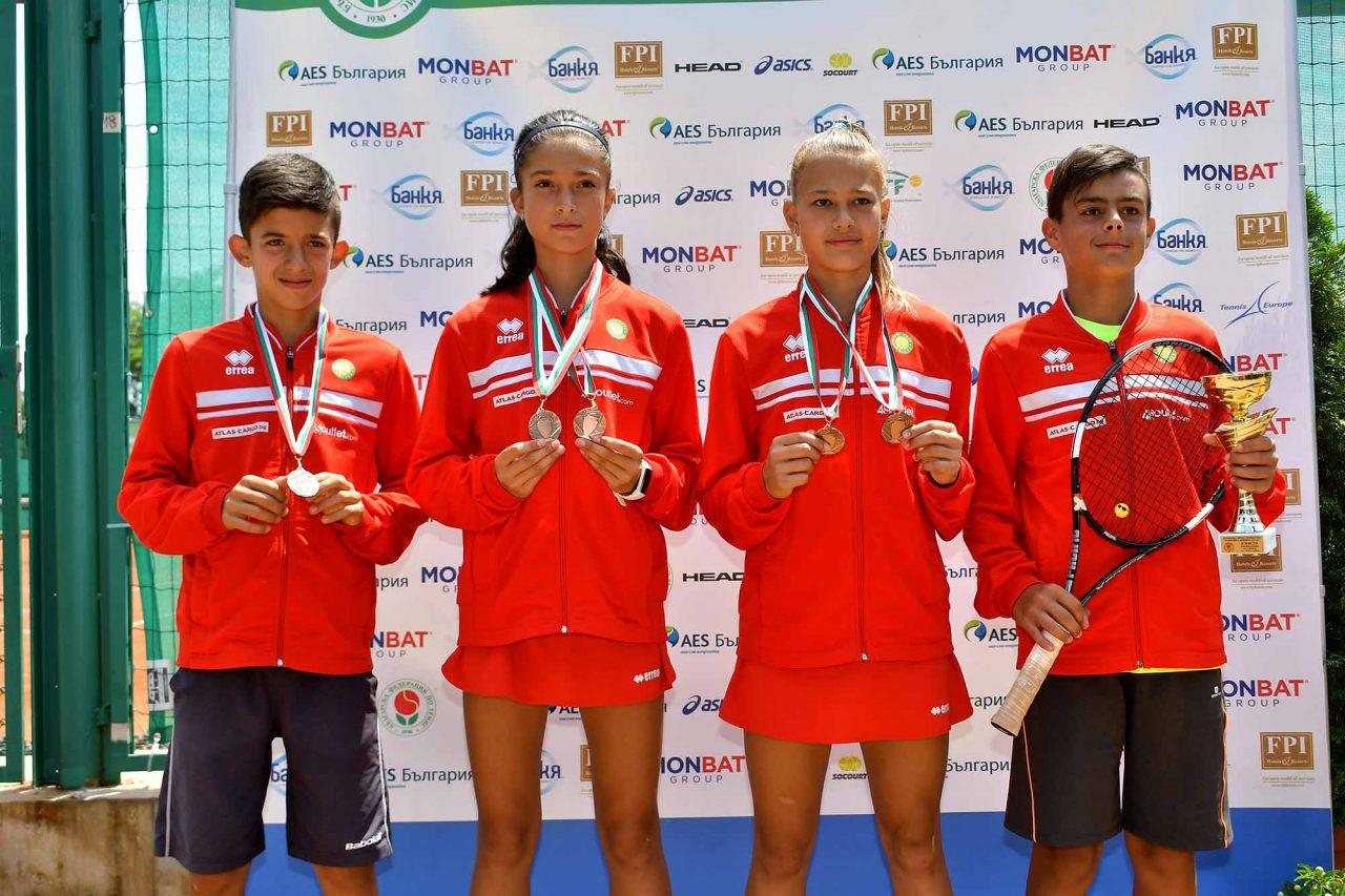 Държавно първенство тенис до 14 год. ТК 15-40 финал двойки (52)