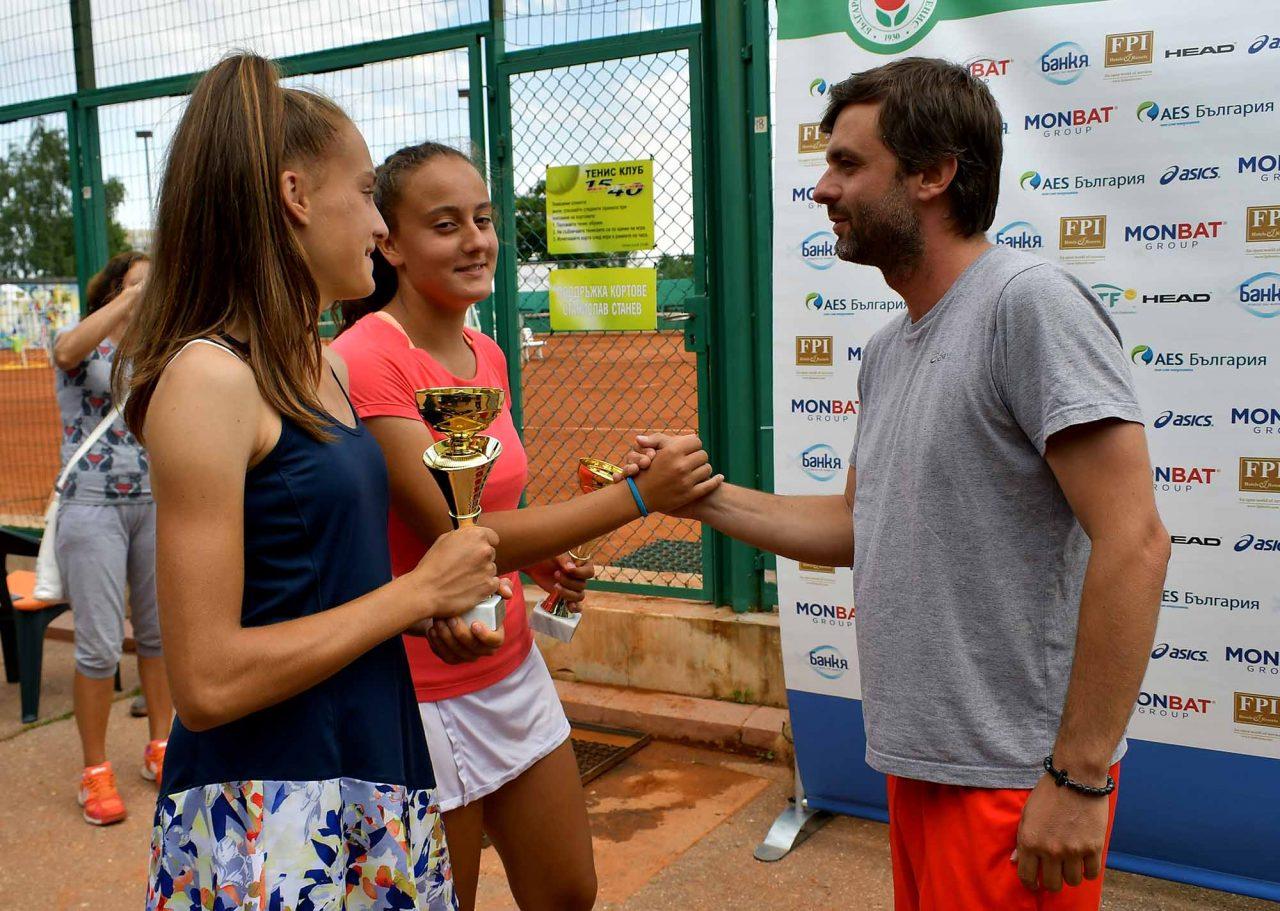 Държавно първенство тенис до 14 год. ТК 15-40 финал двойки (54)