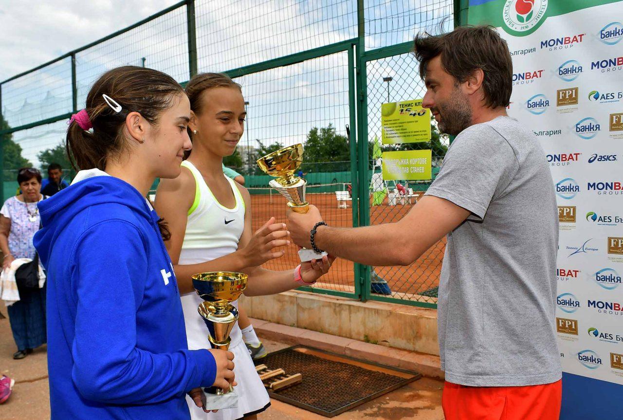 Държавно първенство тенис до 14 год. ТК 15-40 финал двойки (55)