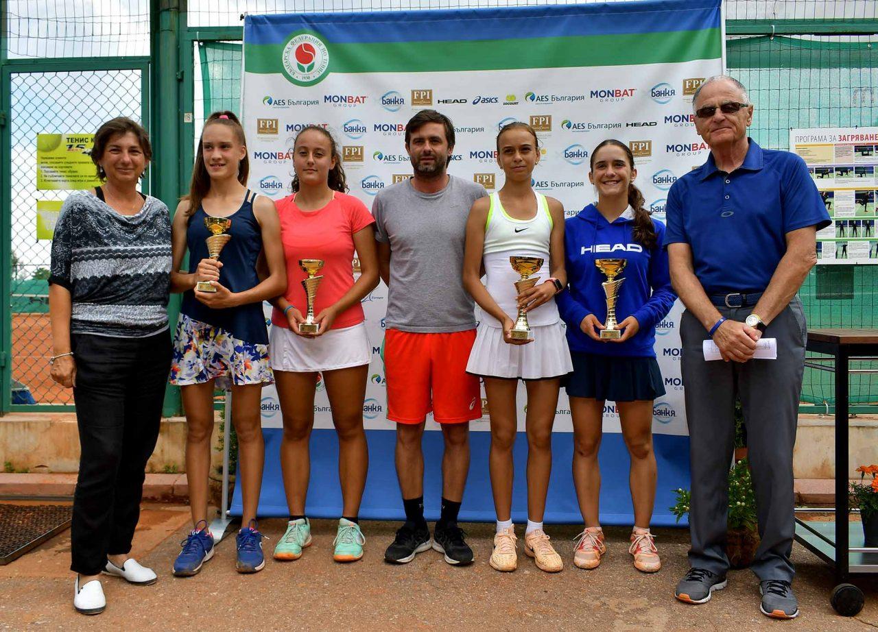 Държавно първенство тенис до 14 год. ТК 15-40 финал двойки (56)